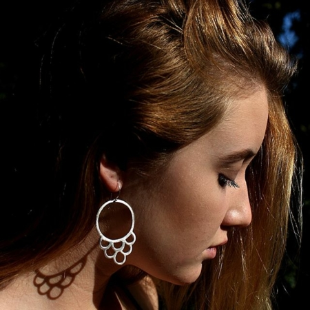 Claire Townsend, earrings