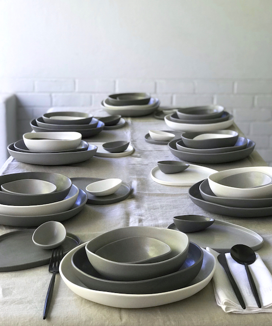 Beste Ogan, dinnerware