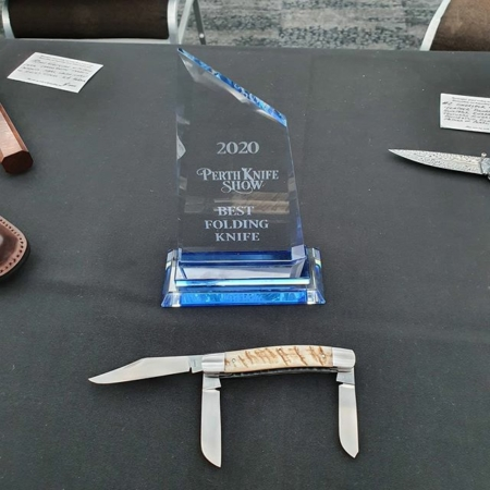 Barnett Custom Knives - 2020 Perth Knife Show Winner