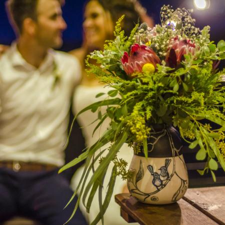 Danica Wichtermann, Wedding present vase